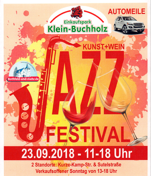 Jazz Und Kunst 2018 Bothfeld Und Mehrde